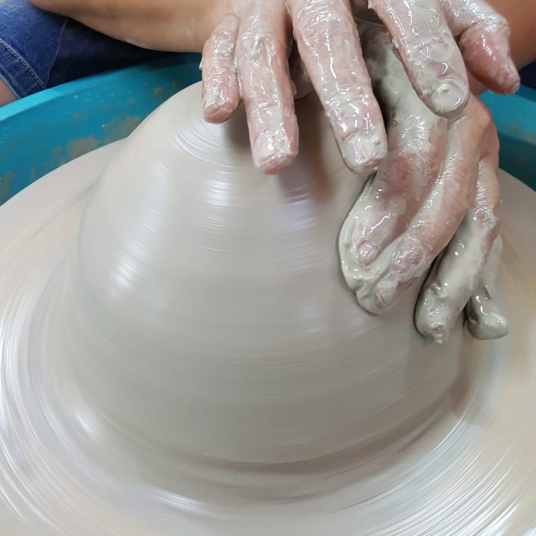 402 Wheel Throwing - 2-3kg Bowl