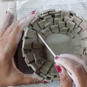 Combo 2 - Hand Building 101 + Wheel Throwing 201