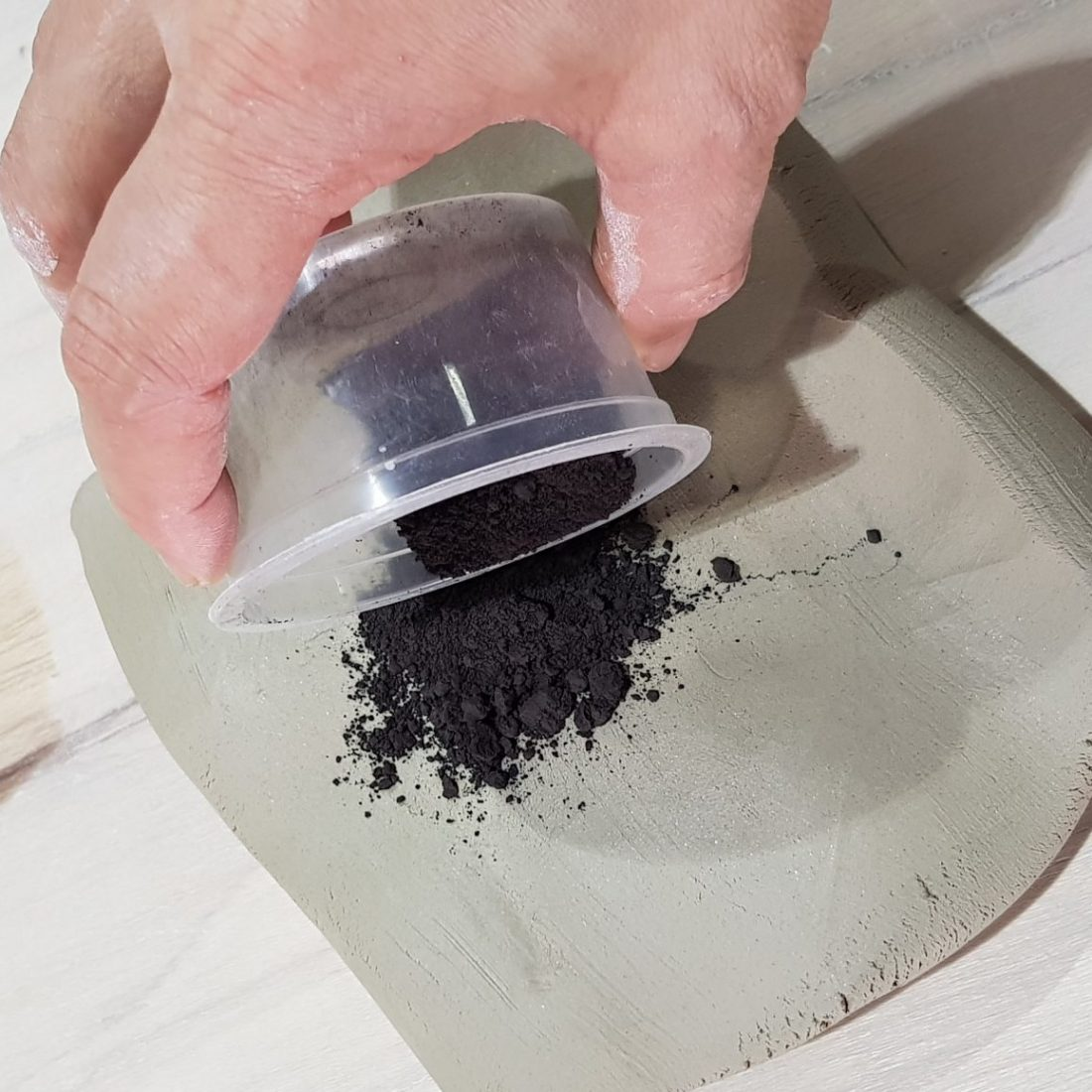308 Wheel Throwing - Marbling Clay