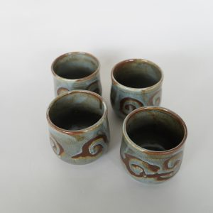 Ombak Series - Ocha Cups (4 pcs)