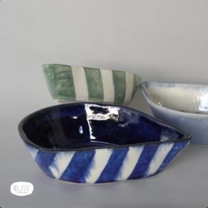 Tear drop dish - The Blue Pair (Set of 2 Pieces)